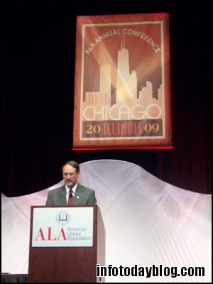 ALA President Jim Rettig Officially Opened the Conference on Saturday Evening.