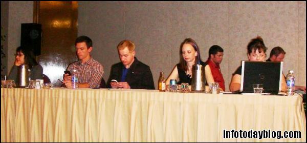 The Judges (L-R): Amanda Etches-Johnson, Aaron Schmidt, Jeff Wisnewski, Sara Houghton-Jan, and Laura Rogers (Timekeeper)
