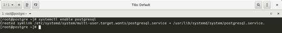 Iniciar servicio postgresql con el sistema operativo