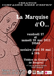 La Marquise d'O... à Bougival