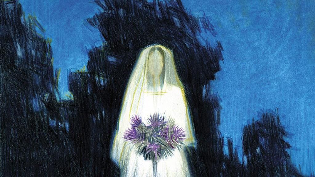 """Dettaglio di copertina di """"Malinverno"""", di Domenico Dara, edito da Feltrinelli nel 2020"""