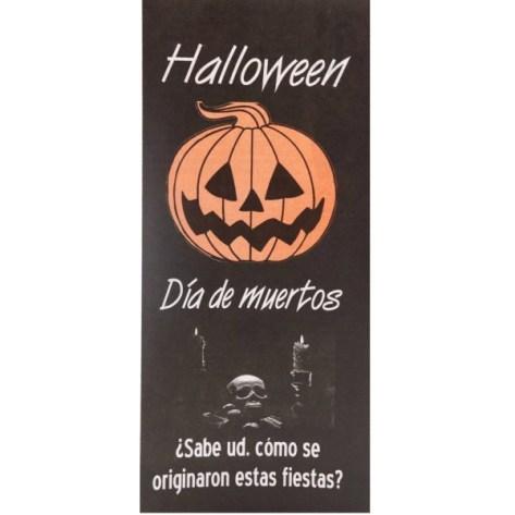 FOLLETO HALLOWEEN DIA DE MUERTOS (PAQ 25 PZAS)
