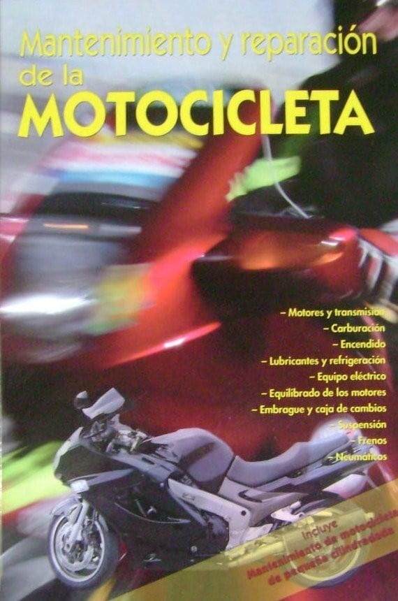 Mantenimiento Y Reparación De La Motocicleta Cultural Libreria Pensar