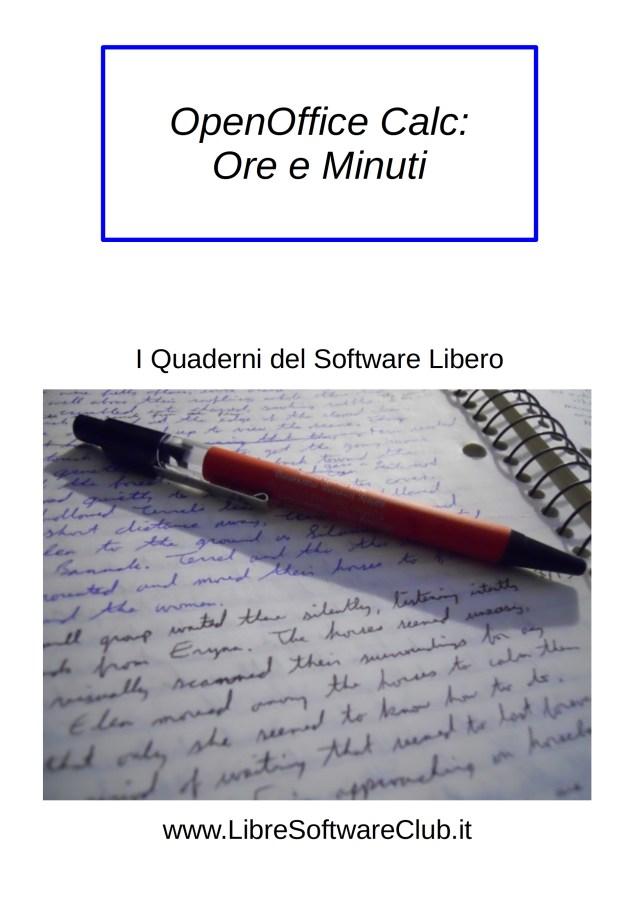 OpenOffice Calc: Ore e Minuti Image