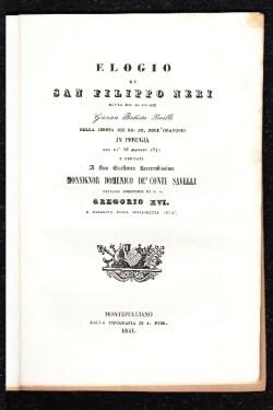 Orazine di Gio Battista Brilli 1841