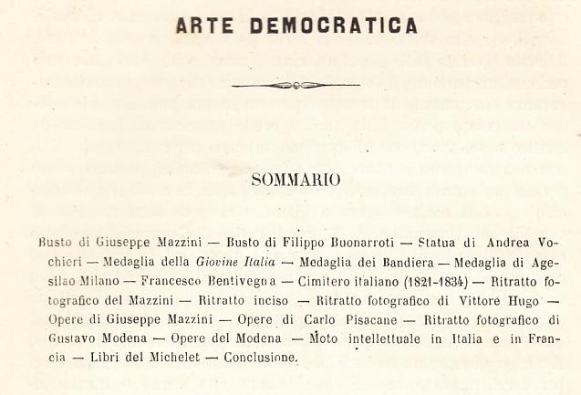 Piero Cironi, Arte Democratica