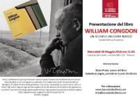 """Mercoledì 30/05/2018 – Presentazione libro """"William Congdon"""""""