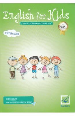 English for Kids - Clasa 3 - Caiet. Ed.2017 - Rodica Dinca