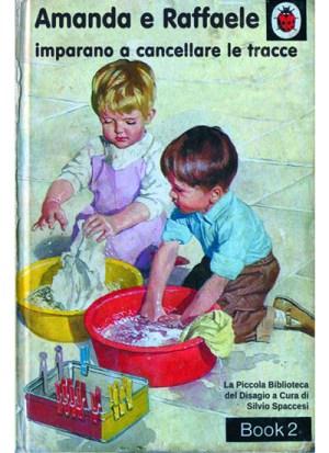 Libri Vintage per l'Infanzia   Amanda e Raffaele imparano a cancellare le tracce