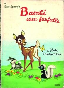 Bambi caca farfalle