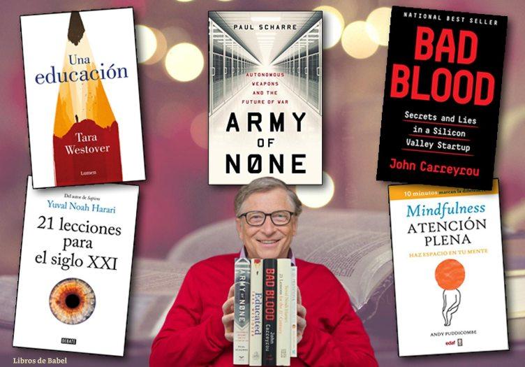 Libros de 2018 recomendados por Bill Gates