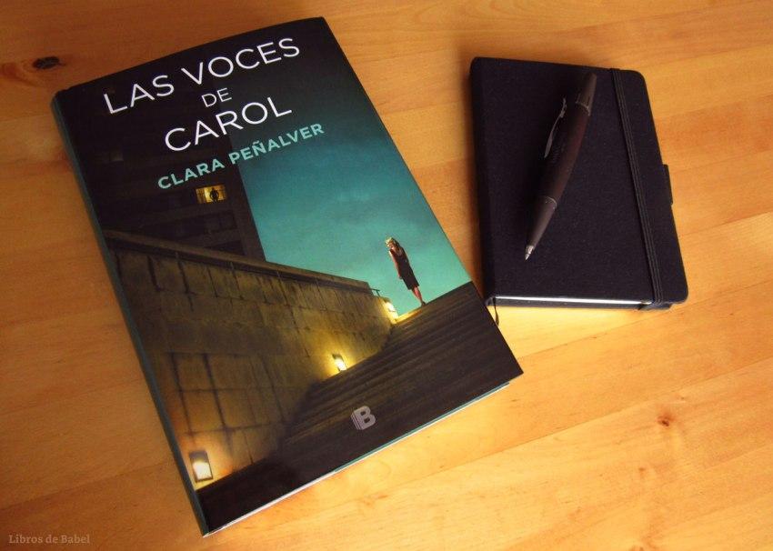 Las voces de Carol, de Clara Peñalver