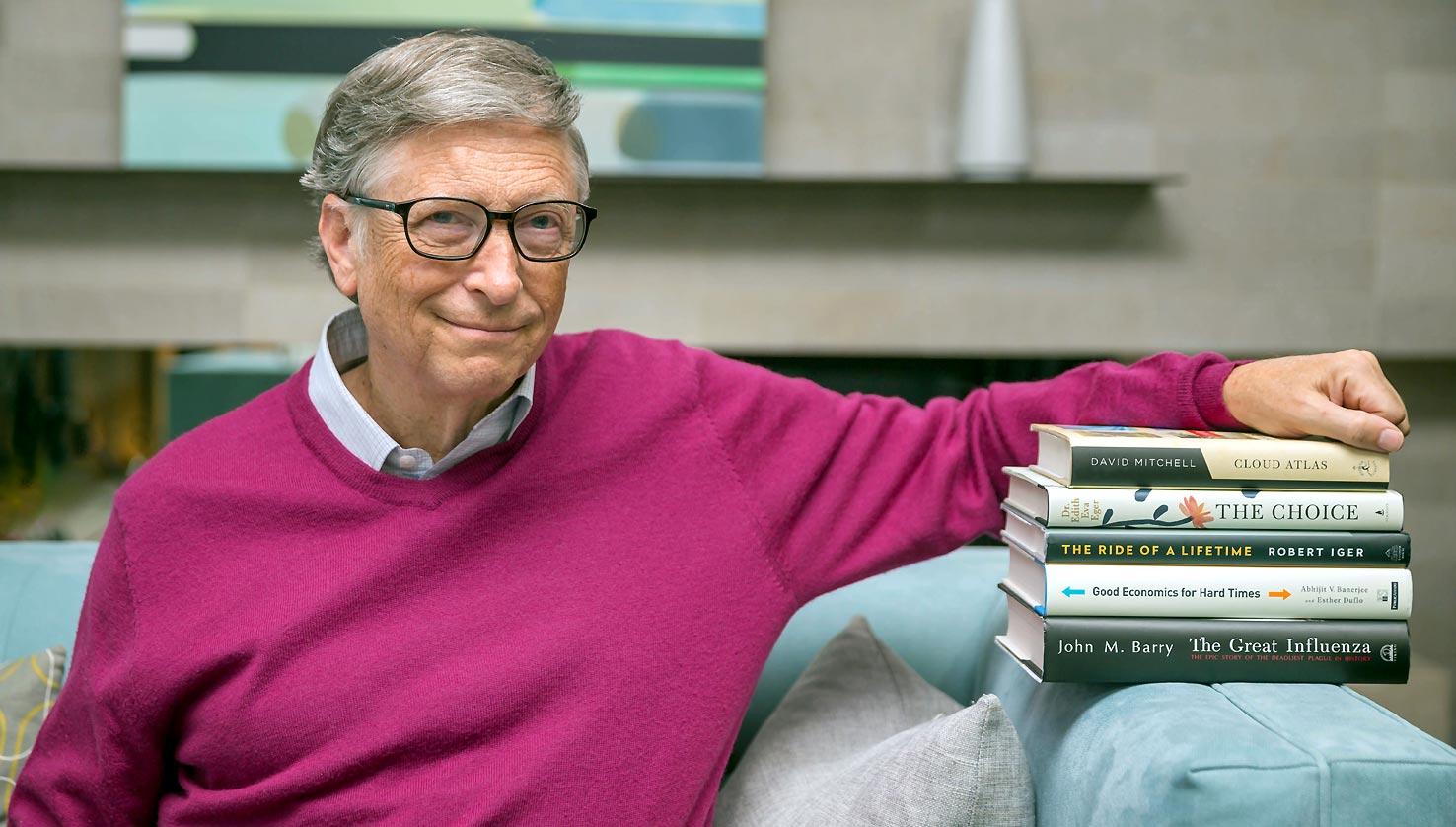 Las lecturas de Bill Gates para el verano de la pandemia