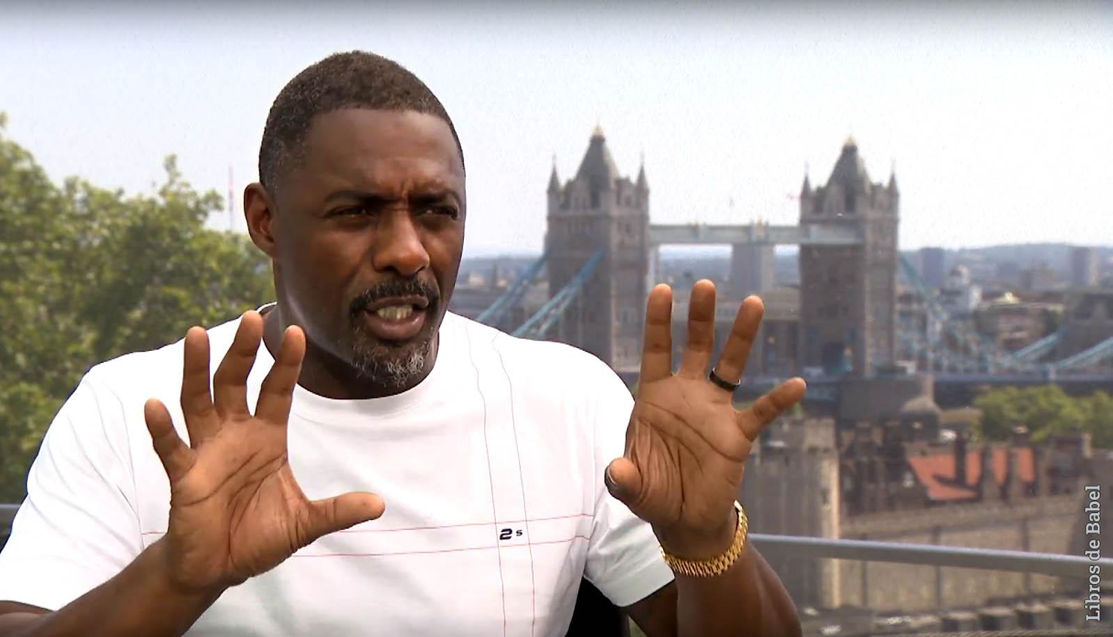 Idris Elba escribirá una serie de libros infantiles para HarperCollins