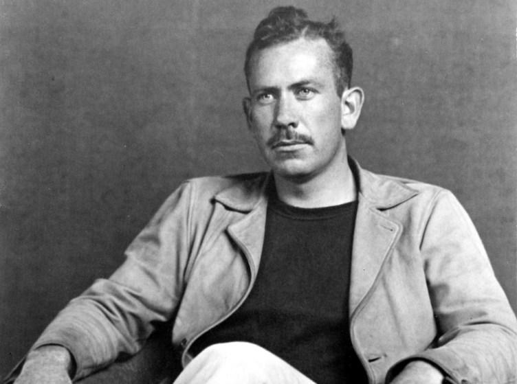 El escritor John Steinbeck