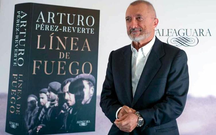 Línea de fuego, de Arturo Pérez-Reverte, Premio de la Crítica 2020