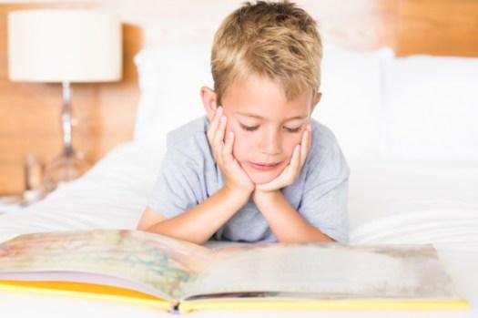 En sólo 66 días conseguiréis que el niño adquiera y asiente el hábito de la lectura