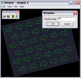 Image rotation - screenshot