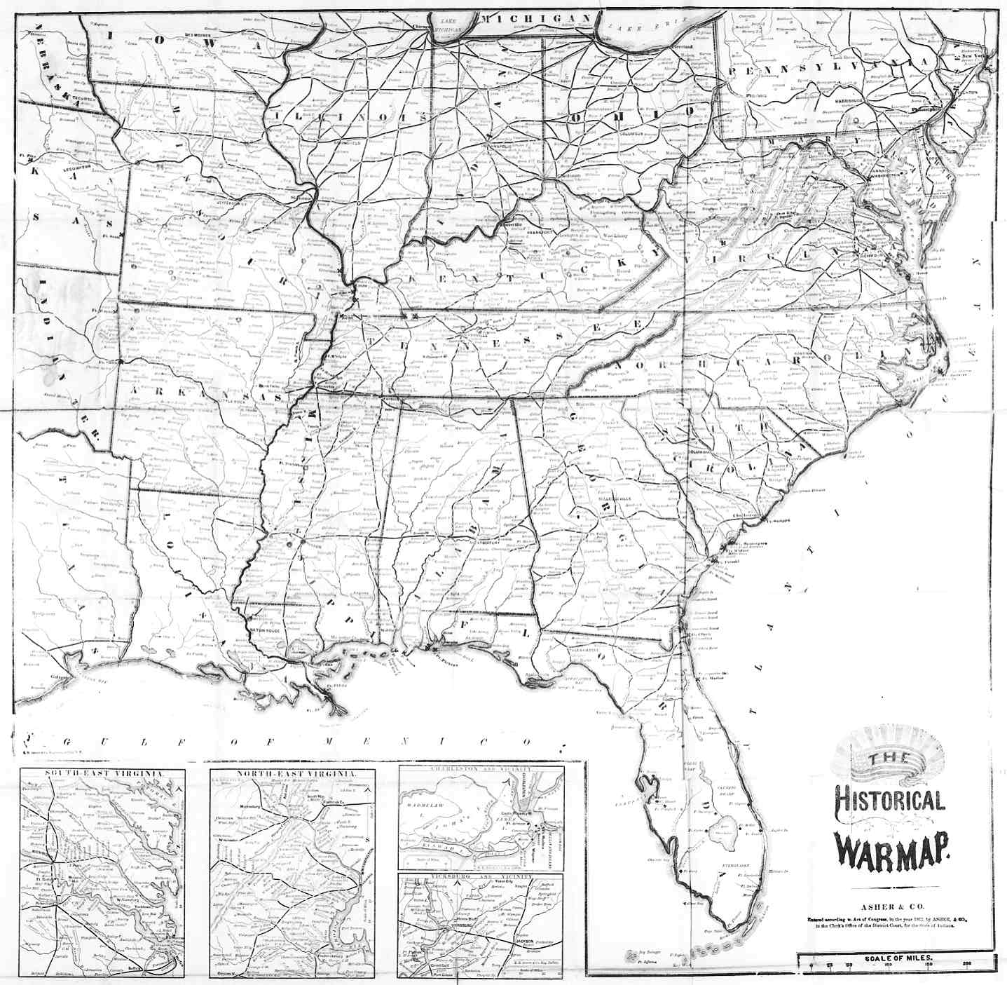 Old Usa Map