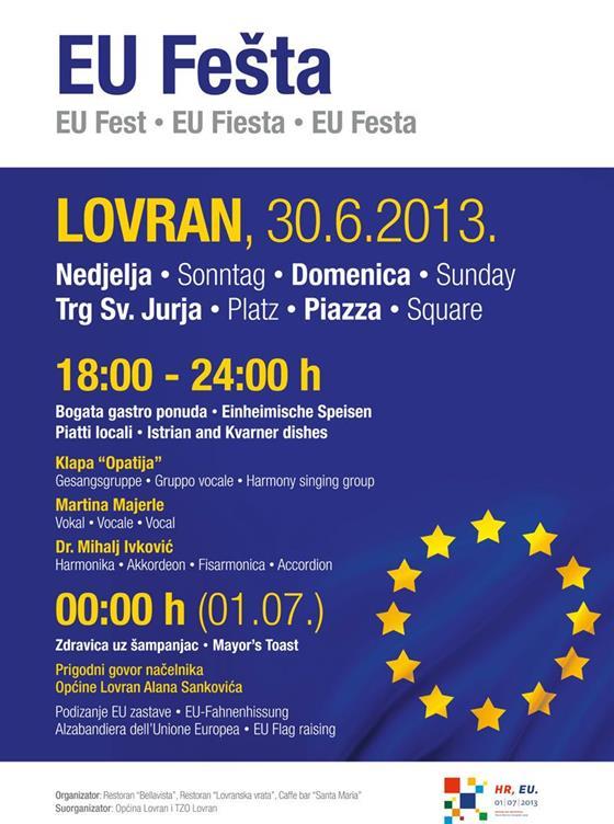EU fešta Lovran