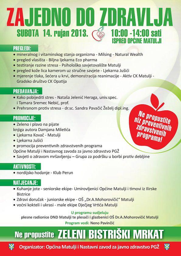 Zajedno do zdravlja 2013