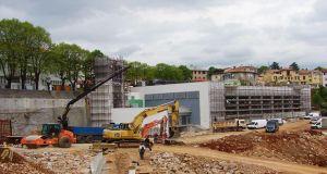 Izgradnja dvorane Matulji