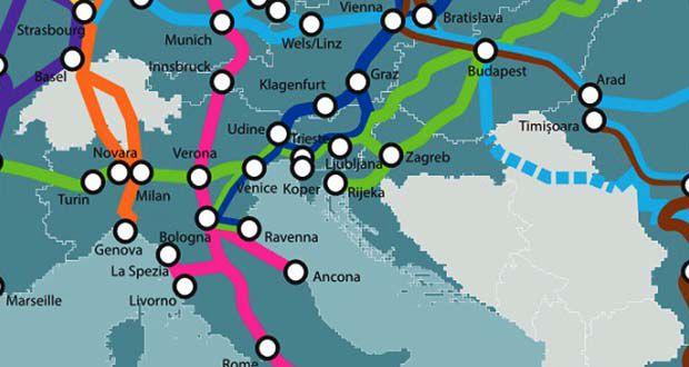 Prometni koridori EU