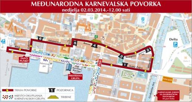 karnevalska povorka Rijeka 2014