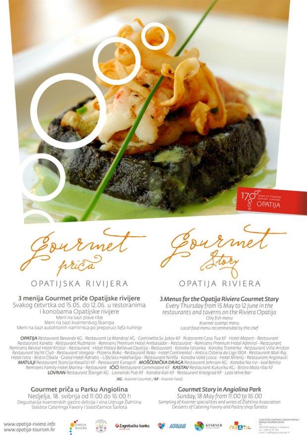 Gourmet-prica-plakat
