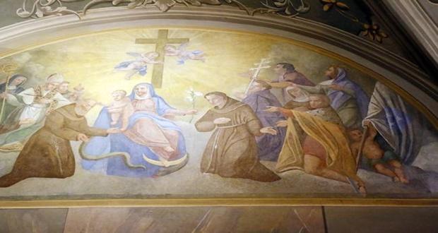 Freska Bogorodice 1
