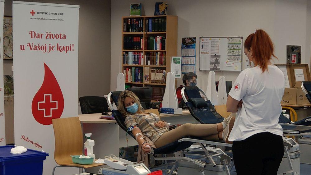 (FOTO) Uspješno provedena Akcija dobrovoljnog darivanja krvi na FMTU