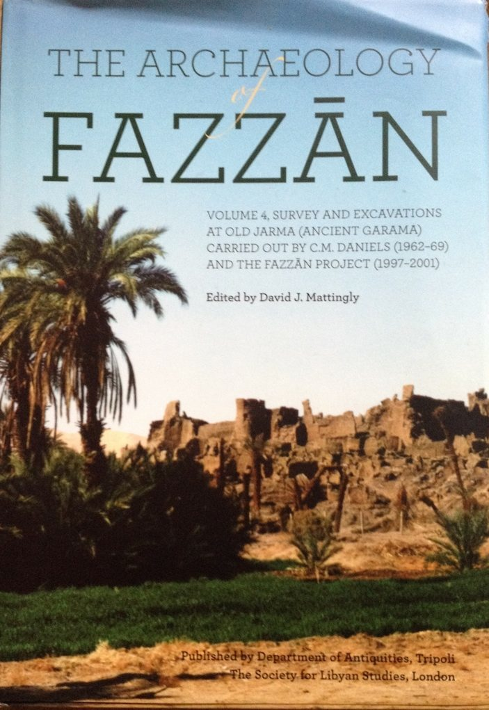 New Fezzan Archaeology Book Launched In London