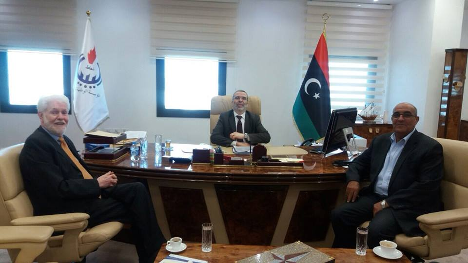 NOC Meets With The Libyan Businessmen Council Head