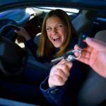 Girl Buying Car