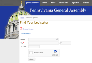 PA Legislator Finder
