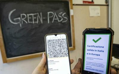 Accesso a scuola con Green Pass
