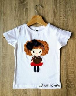 camiseta personalizada niña new sofia
