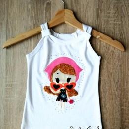 camiseta tirantes pima cotton Emily
