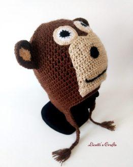 gorro lana alpaca mono
