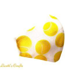 mascarilla higienica deportes pelotas de tenis