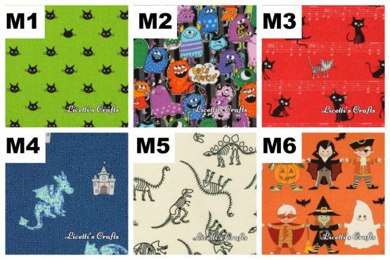 telas gatos monstruos y dragones para regalos personalizados