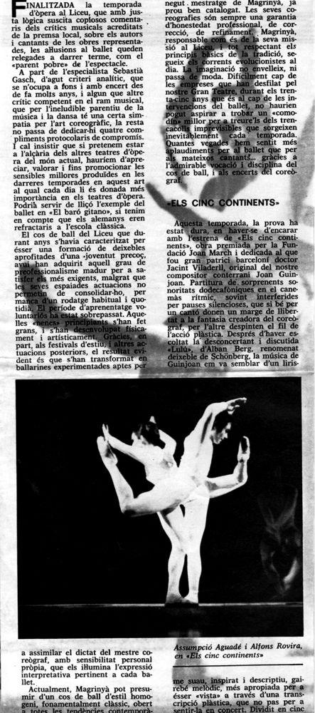 1969-00-00-la nova parella estelar - Asun. Aguadé, Alfonso Rovira - LOS CINCO CONTINENTES