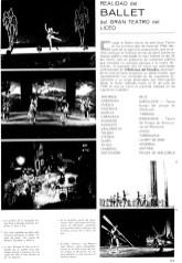 1966 - Gran Teatro del Liceo - realidad del ballet del Liceo-ballet del liceo