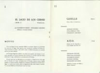 1968 - Lloret de Mar - festival de verano - programa I y II- el lago de los cisnes-giselle-aida
