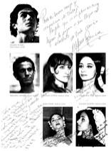 1968 - Temporada de opera - reparto-ballet del liceo