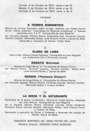 1974-A tiempo romantico-claro de luna-ensayo-rossio-lamoza y el estudiante