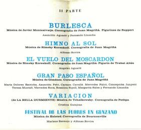 1967 - Palau de la Música - 2ª parte-Burlesca-Himno al sol-el vuelo del moscardon-gran paso español-variacion(de la bella durmiente)-festival de las flores en Genzano