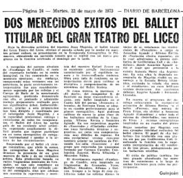 1973-05-22-Diario de Barcelona- el Ballet titular del GTL