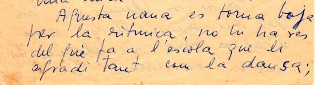 Carta de la mare als avis. 1964