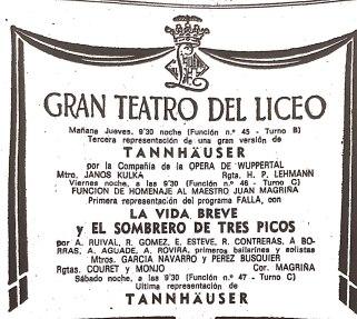 1973-02-14-La Vanguardia-TANNHAUSER-LA VIDA BREVE